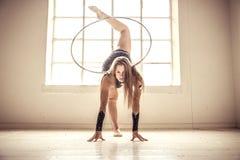 Γυμναστικό πρότυπο μόδας Στοκ εικόνες με δικαίωμα ελεύθερης χρήσης
