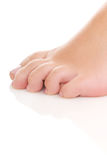 Γυμνό πόδι γυναίκας Στοκ Φωτογραφίες