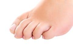 Γυμνό πόδι γυναίκας Στοκ Φωτογραφία