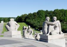 Γυναίκας Vigeland Στοκ εικόνα με δικαίωμα ελεύθερης χρήσης