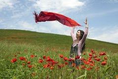 γυναίκα άνοιξη στοκ εικόνα με δικαίωμα ελεύθερης χρήσης