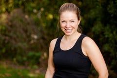 γυναίκα άσκησης potrait Στοκ εικόνες με δικαίωμα ελεύθερης χρήσης