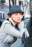 γυναίκα αδιάβροχων στοκ φωτογραφία με δικαίωμα ελεύθερης χρήσης
