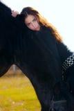 γυναίκα αλόγων Στοκ Φωτογραφίες