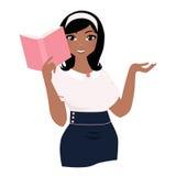 Γυναίκα ανάγνωσης ελεύθερη απεικόνιση δικαιώματος