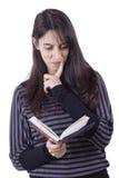 γυναίκα ανάγνωσης s βιβλίων στοκ φωτογραφία