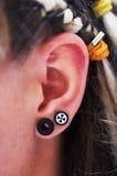 γυναίκα αυτιών Στοκ Φωτογραφία