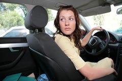 γυναίκα αυτοκινήτων Στοκ φωτογραφία με δικαίωμα ελεύθερης χρήσης