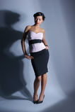 γυναίκα βλαστών μόδας βρα&d Στοκ εικόνες με δικαίωμα ελεύθερης χρήσης