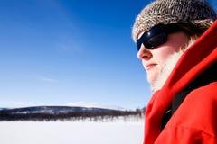 γυναίκα βουνών περιπέτει&alp Στοκ φωτογραφίες με δικαίωμα ελεύθερης χρήσης