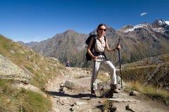 γυναίκα βουνών Στοκ φωτογραφίες με δικαίωμα ελεύθερης χρήσης