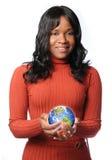 γυναίκα γήινης καμμένος ε& Στοκ φωτογραφία με δικαίωμα ελεύθερης χρήσης