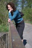γυναίκα γεφυρών Στοκ Εικόνα