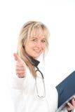 γυναίκα γιατρών Στοκ εικόνες με δικαίωμα ελεύθερης χρήσης