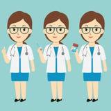 γυναίκα γιατρών Στοκ φωτογραφίες με δικαίωμα ελεύθερης χρήσης