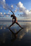 Γυναίκα γιόγκας στοκ φωτογραφία με δικαίωμα ελεύθερης χρήσης