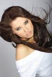 γυναίκα γοητείας hairstyle στοκ εικόνα με δικαίωμα ελεύθερης χρήσης
