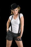 γυναίκα γραμμάτων Τ πουκάμ&i Στοκ Εικόνα