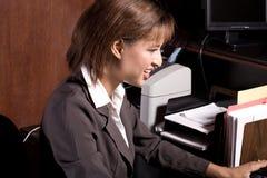 γυναίκα γραφείων στοκ εικόνες με δικαίωμα ελεύθερης χρήσης
