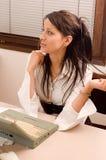 γυναίκα γραφείων Στοκ εικόνα με δικαίωμα ελεύθερης χρήσης