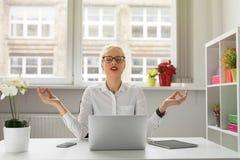 Γυναίκα γραφείων στοκ εικόνες
