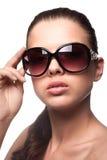 γυναίκα γυαλιών ηλίου Στοκ Εικόνα
