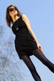 γυναίκα γυαλιών ηλίου Στοκ εικόνες με δικαίωμα ελεύθερης χρήσης