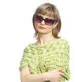 γυναίκα γυαλιών ηλίου Στοκ φωτογραφία με δικαίωμα ελεύθερης χρήσης