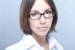 γυναίκα γυαλιών ομορφιά&sigm Στοκ Εικόνα