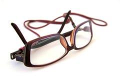 γυναίκα γυαλιών Στοκ Εικόνα