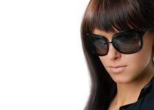 γυναίκα γυαλιών Στοκ εικόνα με δικαίωμα ελεύθερης χρήσης