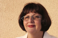 γυναίκα γυαλιών στοκ φωτογραφία με δικαίωμα ελεύθερης χρήσης