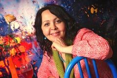 γυναίκα γυαλιού στοκ φωτογραφίες με δικαίωμα ελεύθερης χρήσης