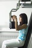 γυναίκα γυμναστικής Στοκ Φωτογραφία