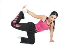 γυναίκα γυμναστικής στοκ φωτογραφίες με δικαίωμα ελεύθερης χρήσης