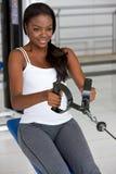γυναίκα γυμναστικής Στοκ φωτογραφία με δικαίωμα ελεύθερης χρήσης