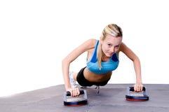 γυναίκα γυμναστικής pilate s Στοκ Εικόνες