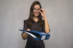 Γυναίκα δασκάλων ή γραμματέων Στοκ φωτογραφία με δικαίωμα ελεύθερης χρήσης