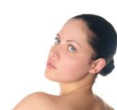 γυναίκα δερματοστιξιών π&om Στοκ φωτογραφία με δικαίωμα ελεύθερης χρήσης