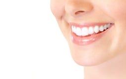 γυναίκα δοντιών Στοκ Εικόνες