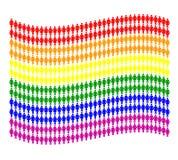 γυναίκα εικονογραμμάτων σημαιών Ελεύθερη απεικόνιση δικαιώματος