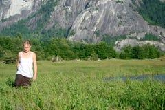 γυναίκα επαρχίας Στοκ Φωτογραφία