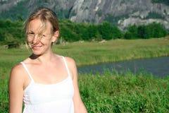 γυναίκα επαρχίας Στοκ Εικόνες