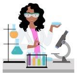Γυναίκα επιστημόνων Στοκ Φωτογραφίες