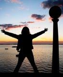 γυναίκα επιτυχίας Στοκ Εικόνες