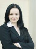 γυναίκα επιχειρησιακού πορτρέτου Στοκ Εικόνα