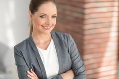 γυναίκα επιχειρησιακού σύγχρονη πορτρέτου Στοκ φωτογραφία με δικαίωμα ελεύθερης χρήσης