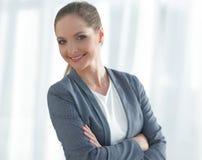 γυναίκα επιχειρησιακού σύγχρονη πορτρέτου Στοκ φωτογραφίες με δικαίωμα ελεύθερης χρήσης