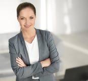 γυναίκα επιχειρησιακού σύγχρονη πορτρέτου Στοκ Εικόνα