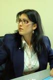 γυναίκα επιχειρησιακών γραφείων Στοκ Φωτογραφία